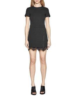 'lula' Lace Trim A-line Dress