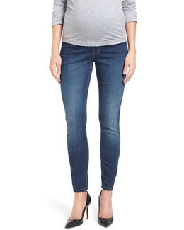 'ami' Stretch Skinny Maternity Jeans