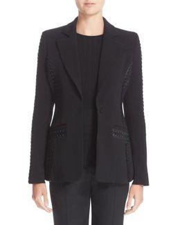 Acacia Lace-Detail Jacket