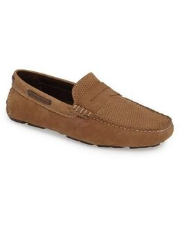 Perforated Driving Loafer