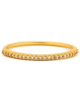 'shimmer' Cubic Zirconia Bangle