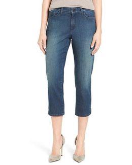 Alina Stretch Capri Jeans