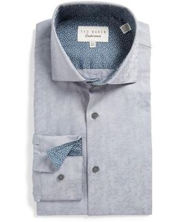 Scooter Trim Fit Texture Dress Shirt