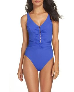 Cocktail Party One-piece Swimsuit