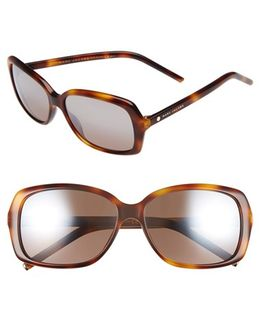 Marc Jacobs 57mm Sunglasses - Havana