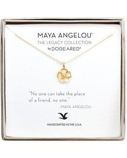 'no One Can Take The Place' Pendant Necklace