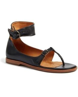 Queen Ankle Strap Sandal
