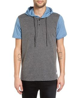 'hyland' Hooded Colorblock Henley
