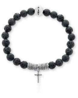 Lava Rock Bead Bracelet