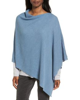 Fine Merino Wool Links Poncho