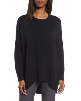 Cashmere & Wool Blend Oversize Sweater