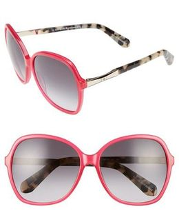 Jolyn 58mm Sunglasses