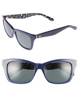 Jenae 53mm Polarized Sunglasses