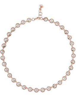'rosele' Crystal Collar Necklace