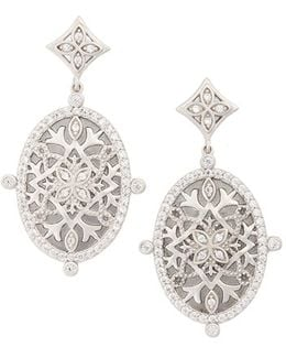 Contemporary Deco Drop Earrings