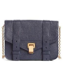 Ps1 Lambskin Leather Chain Wallet