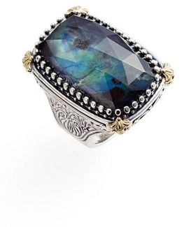 Cassiopeia Semiprecious Doublet Ring