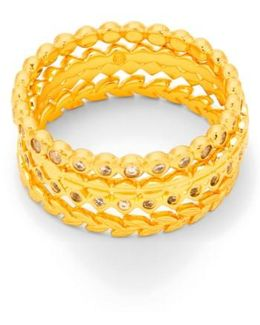 Stackable Set Of 4 Band Rings