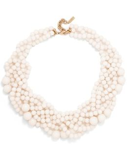 Bubblestream Imitation Pearl Necklace