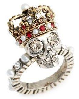 Skull King Ring