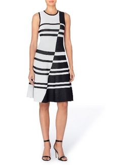 Loren Colorblock Stripe Dress