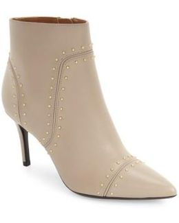 Grazie Studded Pointed-Toe Boot