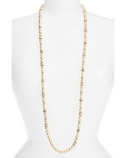 Imitation Pearl Strand Necklace
