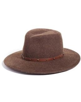 Karli Wool Felt Wide Brim Hat