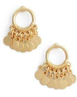 Vermeil Frontal Drop Earrings