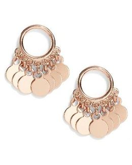 Vermeil Frontal Drop Earrings