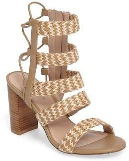 Ella Block Heel Sandal