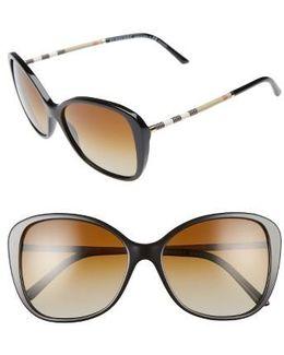 57mm Polarized Sunglasses