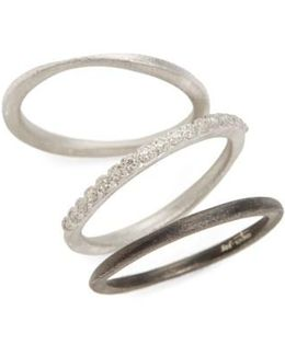 New World Set Of Three Stacking Rings