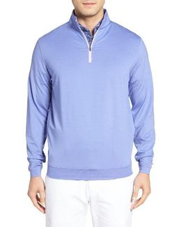 Perth Stretch Quarter Zip Pulllover