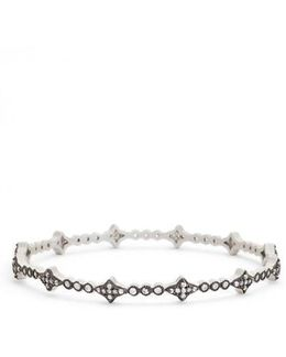 Thin Cubic Zirconia Bangle