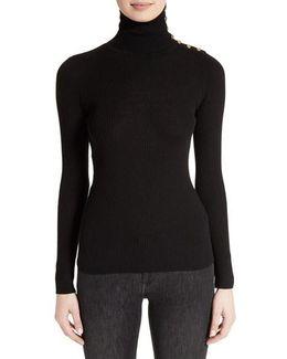 Beavly Merino Wool Turtleneck Sweater