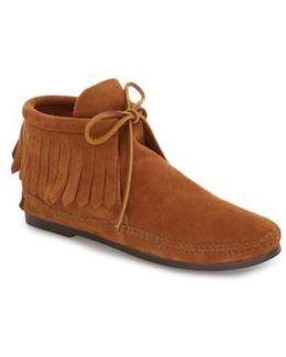 Classic Fringed Chukka Style Boot
