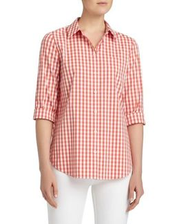 Paget Gingham Blouse