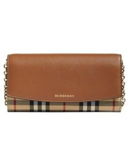 Henley Leather Wallet On A Chain