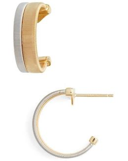 Coil Hoop Earrings