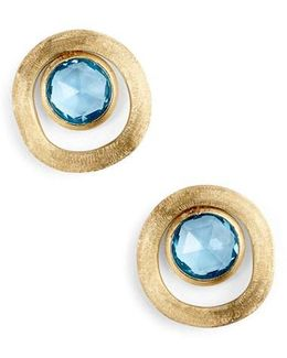 Jaipur Semiprecious Stone Stud Earrings