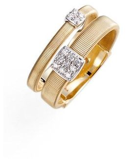 Masai Two Strand Diamond Ring