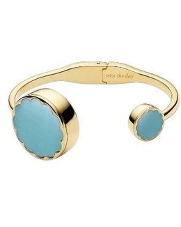 Mother Of Pearl Hinge Bangle Activity Tracker