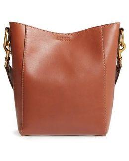 Harness Leather Bucket Bag