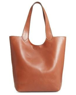 Harness Leather Tote