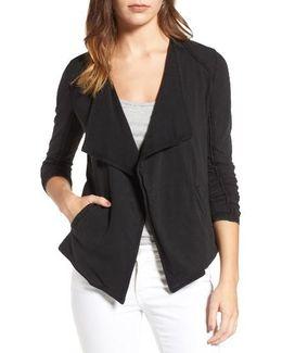 Caslon Drapey Knit Jacket