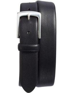 Tubular Leather Belt