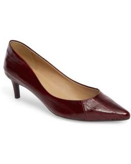 Tommy Pointy Toe Pump