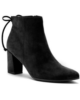 Tiana Waterproof Pointed-Toe Suede Boots