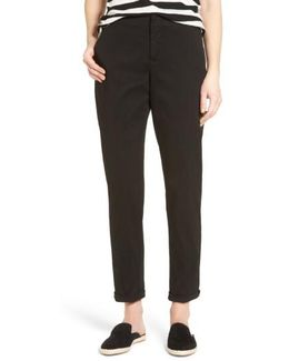 Riley Stretch Twill Relaxed Trousers